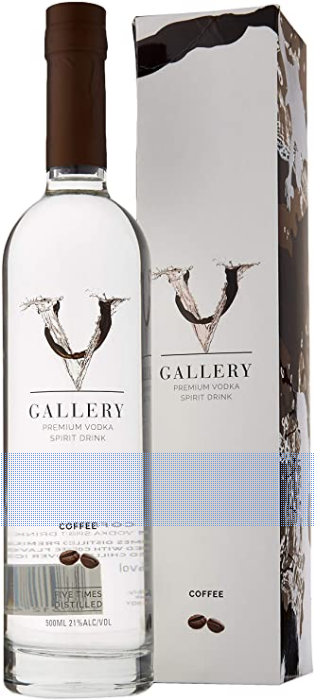 V Gallery Premium Coffee Flavoured Vodka 50cl